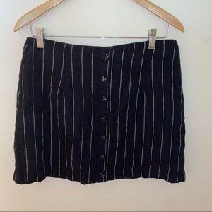 🌹4/16🌹XXI High waisted fabric striped skirt